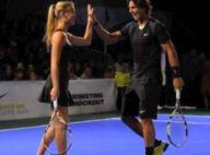 Bar Refaeli, en tenniswoman ultra-sexy, fait équipe avec Nadal... face aux pitreries de Bradley Cooper !