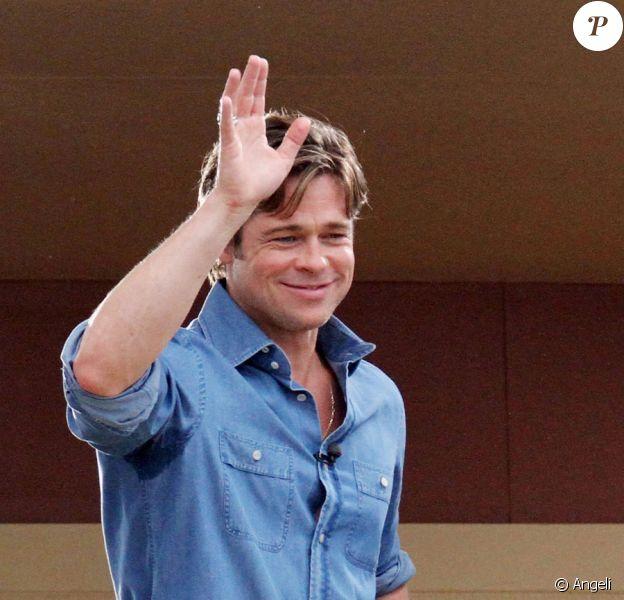 Brad Pitt à la Nouvelle-Orleans, le 27 août 2010