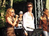 Kylie Minogue et Rufus Wainwright ont chanté la dernière chanson de l'été...