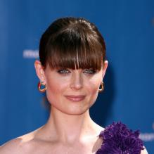 Emily Deschanel à la cérémonie des Emmy Awards. 29/08/2010