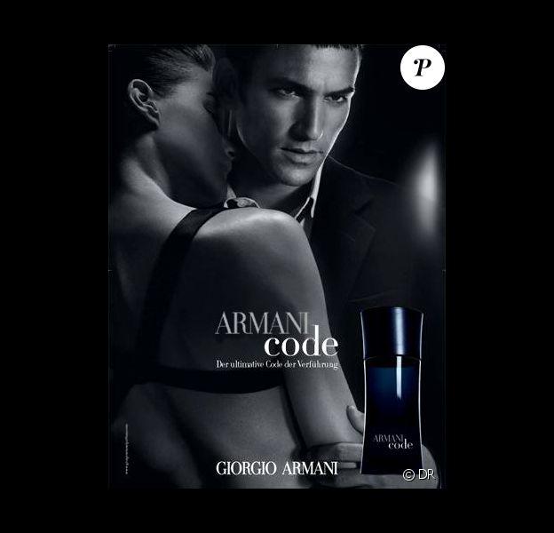 La publicité pour Armani Code