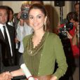 La reine Rania de Jordanie, une beauté à l'élégance rare, qui apporte un souffle glamour au monde la politique internationale.