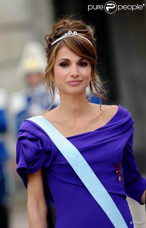 La reine Rania de Jordanie : A 40 ans, elle reste une beauté à l'élégance rare, qui apporte un souffle glamour au monde de la politique internationale.