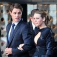 Blake Lively et Sam Page sur le tournage de Gossip Girl, le 31 août 2010