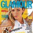 Blake Lively en couverture du magazine Glamour (Allemagne) du mois d'août 2010
