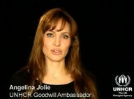Angelina Jolie : Regardez son appel pour lutter contre ''une catastrophe socio-économique''...