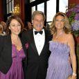 Daniela Lumbroso, Marc Stehlin et Arielle de Rothschild lors du Grand Bal de Deauville, le 28 août 2010