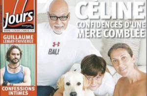 Céline Dion, entourée de ceux qu'elle aime, affiche son magnifique ventre de future maman !