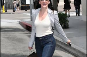 PHOTOS : Kristin Davis garde le sourire en toutes circonstances...