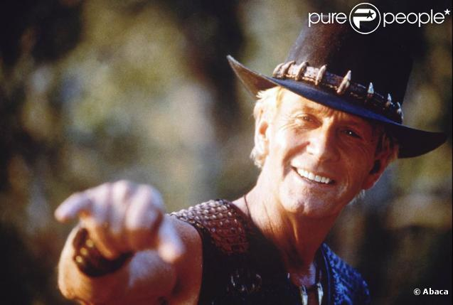 Paul Hogan, alias Crocodile Dundee