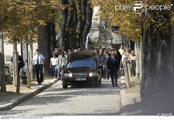 Au cimetière du père lachaise à paris le 4 septembre 2010