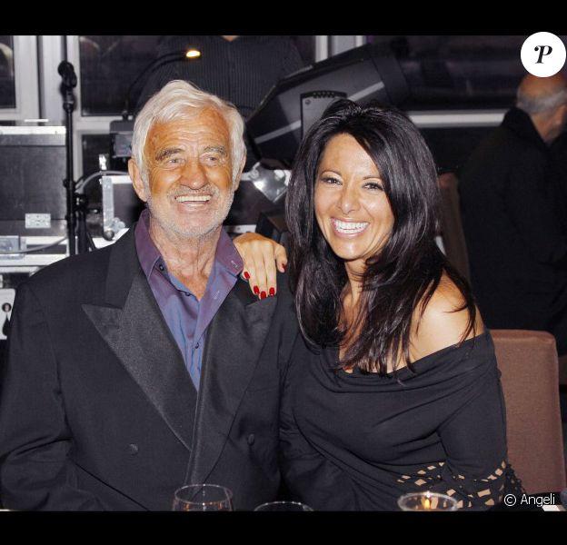 Jean-Paul et Barbara, le 15 juin 2010, lors de l'anniversaire de Johnny Hallyday.