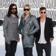 Le groupe 30 Seconds To mars lors des MTV Video Music Awards 2010 à Los Angeles, le 12 septembre 2010