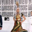 Lady Gaga lors des MTV Video Music Awards à Los Angeles, le 12 septembre 2010