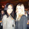 Valérie Bègue et Alexandra Rosenfeldlors de la soirée de lancement du nouveau parfum de John Galliano à Paris, le 13 septembre 2010