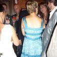 Lorie lors de la soirée de lancement du nouveau parfum de John Galliano à Paris, le 13 septembre 2010