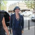 John Galliano à Paris, le 13 septembre 2010
