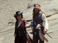 Pirates des Caraïbes 4 : Penélope Cruz très décolletée et Johnny Depp au coeur des explosions !