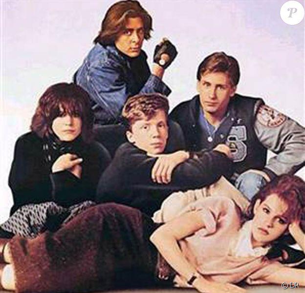 Des images de The Breakfast Club, de John Hughes, sorti en 1985.