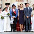 Victoria et Daniel de Suède en France le 27 septembre 2010 : visite du château de La Grange à Savigny-le-temple
