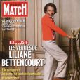Lilianne Bettencourt en couverture de Paris Match