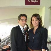 Daniela Lumbroso et son mari Eric Ghebali pris dans un triomphe au galop !