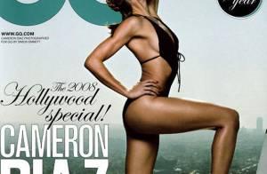 PHOTOS : Cameron Diaz plus sexy que jamais dans le prochain 'GQ' !