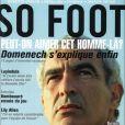 Raymond Domenech en couverture de  So Foot , mai 2009