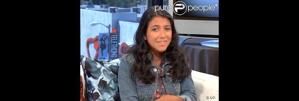 Caitlin sanchez 14 ans pr te sa voix au personnage de dora l 39 exploratrice purepeople - Personnage dora ...