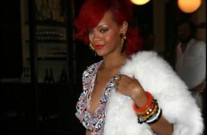 Rihanna : Défilé, shopping, dîner en tête à tête, elle ne quitte pas son chéri !