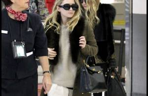 Mary-Kate et Ashley Olsen : Fin de la Fashion Week, retour au bercail !