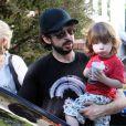 Christina Aguilera et son mari Jordan Bratman, avec leur fils Max