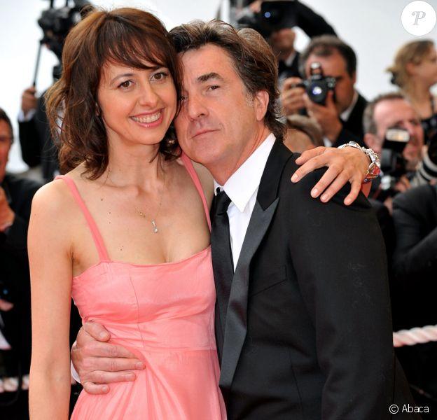 François Cluzet et Valérie Bonneton en mai 2009