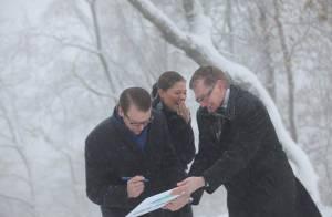 Victoria de Suède : Nouvelle gaffe, en pleine tempête de neige! Pauvre Daniel...