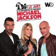 """""""Franck Véron, Marie Courchinoux et Rachid Ferrache, le jury pour l'émission A la recherche du nouveau Michael Jackson diffusée sur W9"""""""