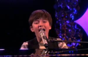 Greyson Chance, 13 ans, présente son premier single chez sa grande amie Ellen !
