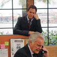 Robert Wagner et Michael Weatherly dans NCIS