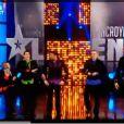 Les Echos-liés pendant la finale d'Incroyable Talent pour 2009