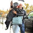 """""""Rihanna et son boyfriend Matt Kemp à leur arrivée au Grand Journal le 10/11/2010"""""""