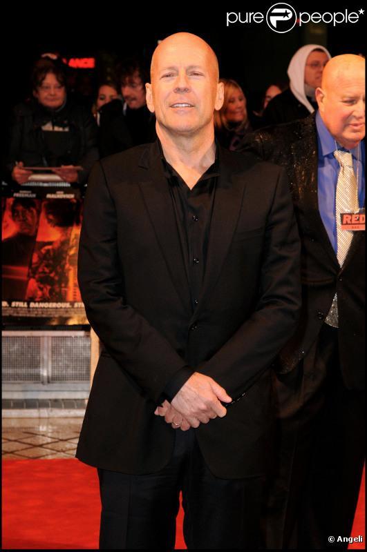 L'acteur américain Bruce Willis