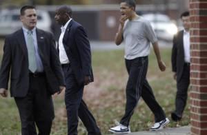 Barack Obama écope de 12 points de suture pendant que Michelle s'amuse !