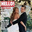 Robbie Williams et Ayda Field en couverture du magazine Hello