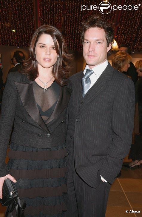 Neve Campbell et son mari John Light à Monaco en décembre 2004