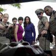 Courteney Cox, Neve Cambell et David Arquette dans Scream 4