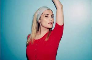 Emmanuelle Seigner pose pour Céline et sa nouvelle collection zen