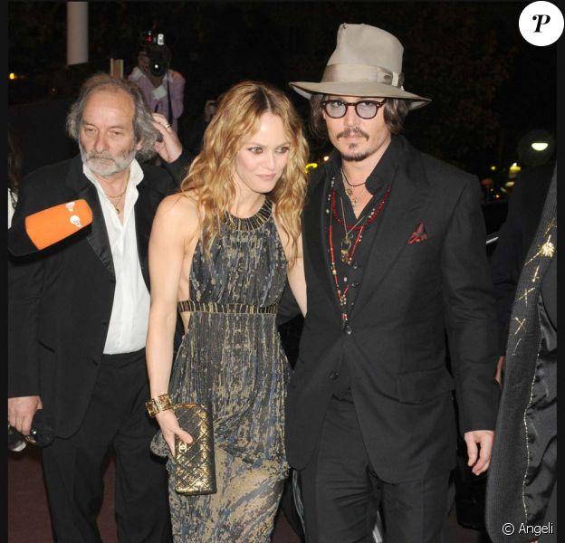Johnny Depp et Vanessa Paradis, Festival de Cannes 2010