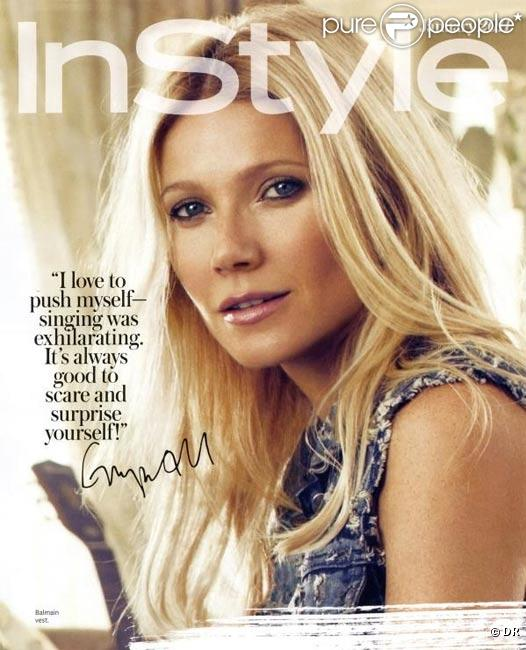Gwyneth Paltrow en couverture d'InStyle