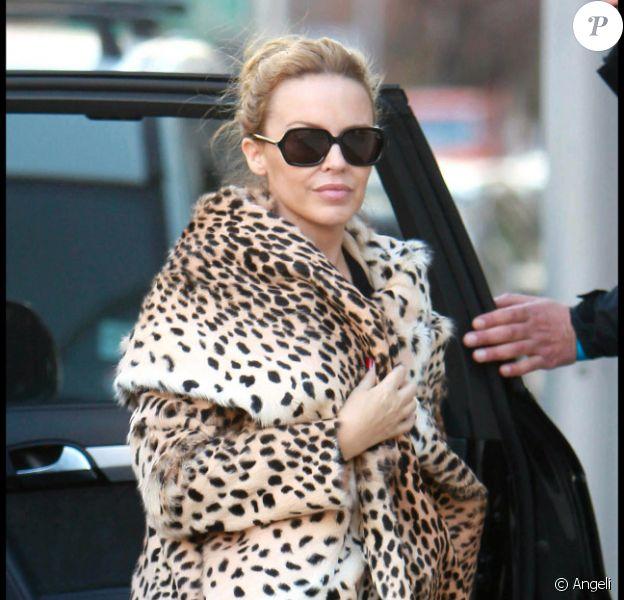 Kylie Minogue, figure de proue de la tendance Léopard
