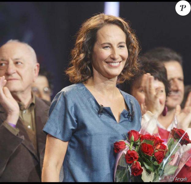 Ségolène Royal et Pierre Bergé, Paris, 27 septembre 2008