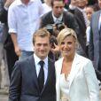 La présentatrice du JT de TF1 Laurence Ferrari et son mari Renaud Capuçon ont accueilli leur premier enfant, Elliott né au début du mois de novembre.
